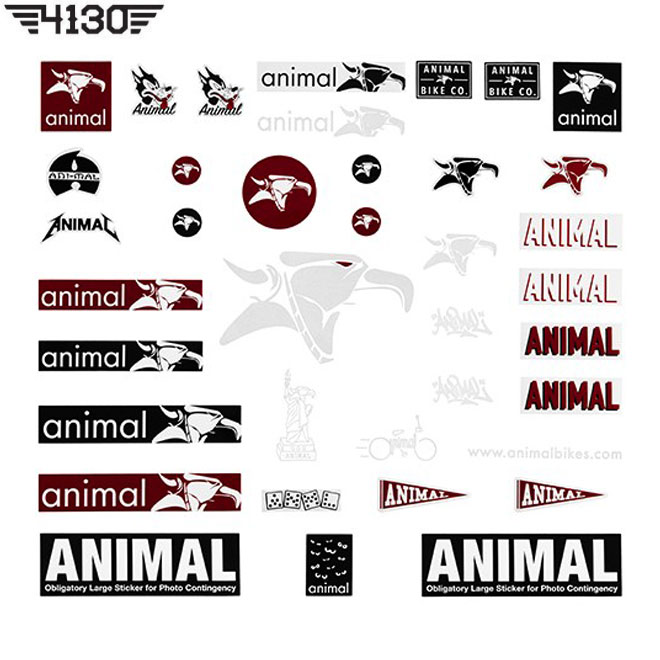 ANIMAL Sticker Pack
