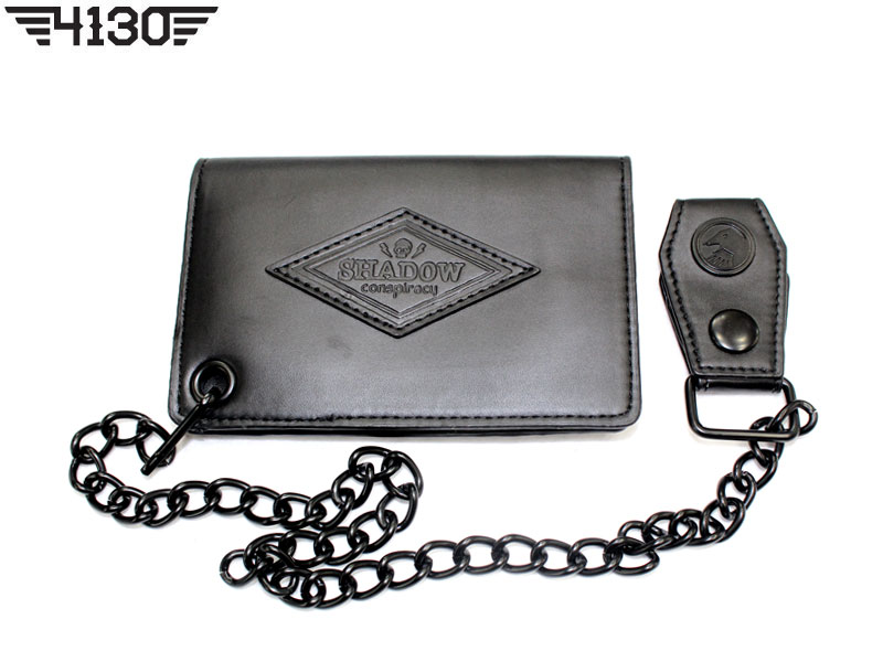 TSC KIL Chain Wallet Black