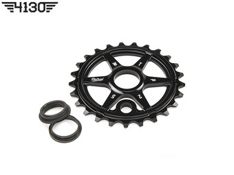 WTP PATROL SPROCKET -Black- [25T / 26T]