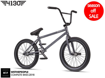 "[품절/단종] 2016 WTP TRUST 20.5""TT BMX -GLOSSY CLEAR GREY FINISH-"
