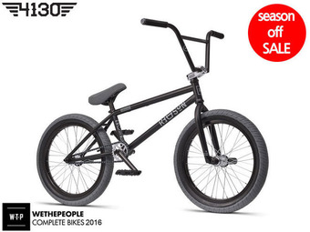 "[품절/단종] 위더피플 리즌 BMX / 2016 WTP REASON FC 20.75""TT BMX -MATT BLACK FINISH-"