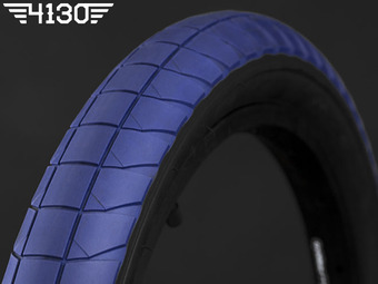 "FLY FUEGO Tire 2.3"" [Devon Smillie Signature] -Blue / Black Side wall-"