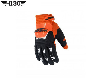 [쥬니어 사이즈 입고] JT Racing THROTTLE GLOVE -Orange / Black- [ XS 사이즈 ]