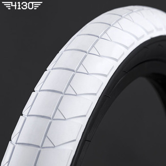 "FLY FUEGO Tire 2.3"" [Devon Smillie Signature] -White / Black Side wall-"
