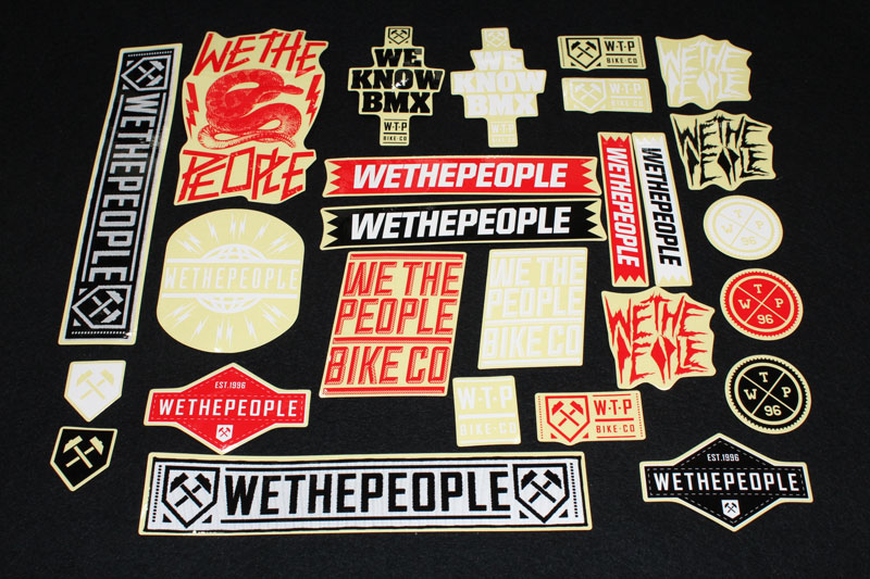 WTP Sticker Set