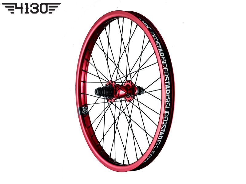 SUPERSTAR Overdrive Midnight Rear wheel -Red- [LHD 좌구동]