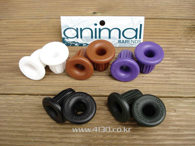 ANIMAL Bar end -화이트-