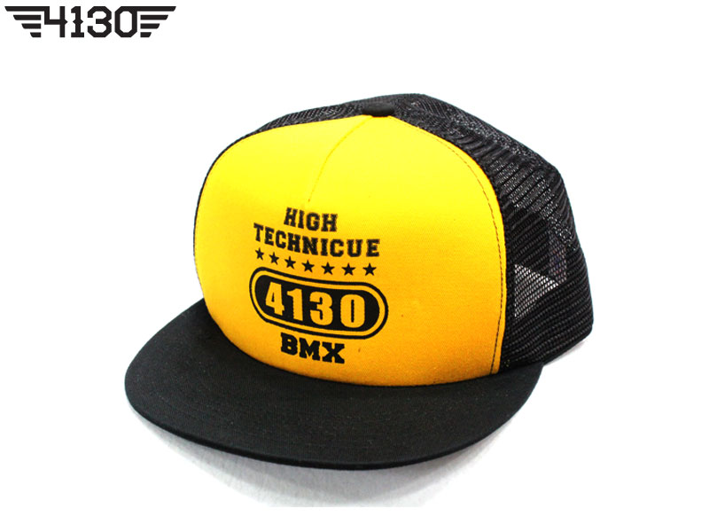 4130 X MONKIDS Collaboration Mesh Snap Back