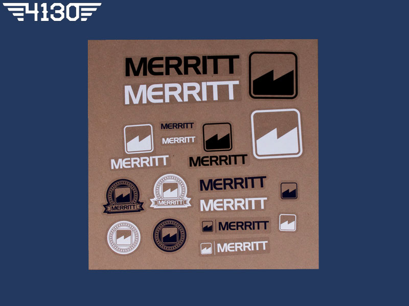 MERRITT Sticker Pack 18PC