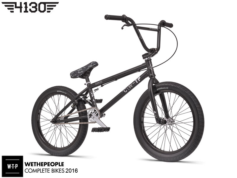 "[품절/단종] 2016 WTP CURSE BMX 20.25""TT -MATT BLACK FINISH-"