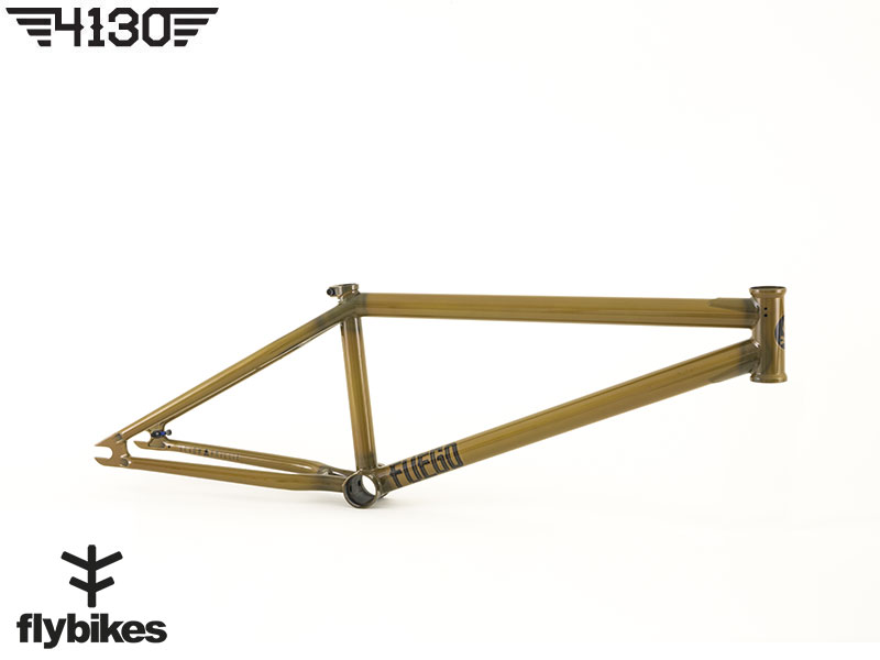 "FLY FUEGO3 BMX Frame 20.5""TT -Gloss Semi Trans Brown- [재입고]"