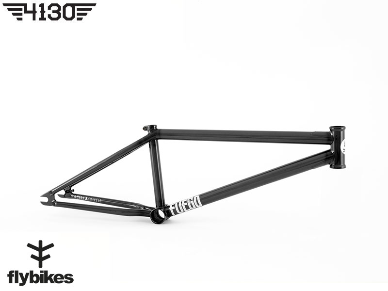 "FLY FUEGO3 BMX Frame 20.5""TT -Gloss Trans Black- [구매시 FUEGO3 9인치 핸들바 무료 증정 이벤트]"