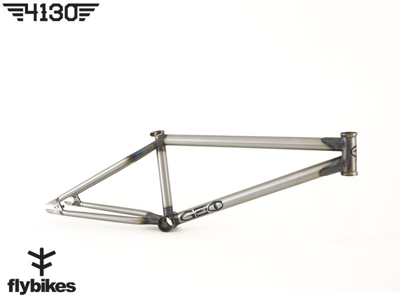 FLY GEO BMX Frame 2 Sizes -Flat Raw-