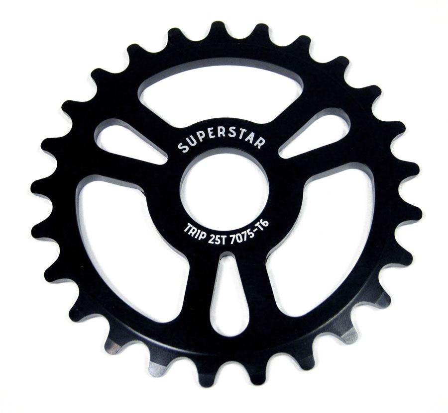 Trip regular 25T Sprocket -black- [크리어런스 세일]